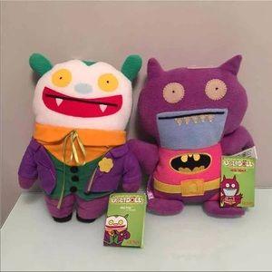 UglyDoll Other - FINAL PRICE‼️ UglyDoll Gund Batman & Joker BUNDLE